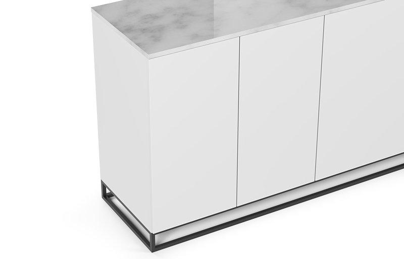 Metalic legs in white marble temahome treniq 1 1540985284513