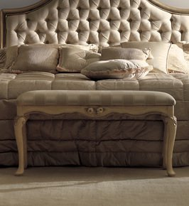 Luxurious Designer Italian Bedroom Bench