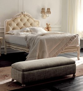 Italian Rose Detail Luxury Single Bed