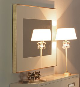 London Collection Ivory Wall Mirror