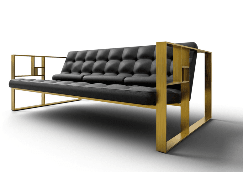 Golden section sofa
