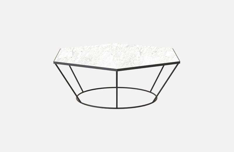 Sei middle table black with white marble miist treniq 3 1541860308599