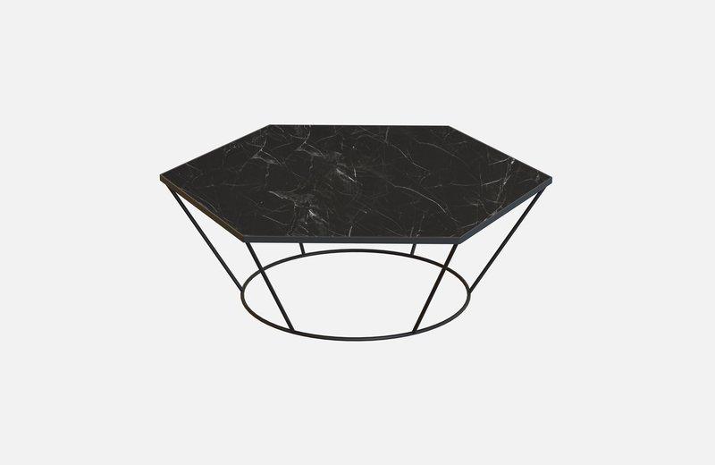 Sei middle table black with black marble miist treniq 3 1541860504883
