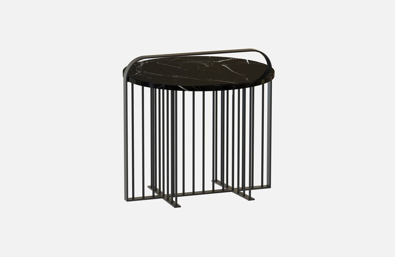 Meister coffee table black with black marble miist treniq 4 1541861544679