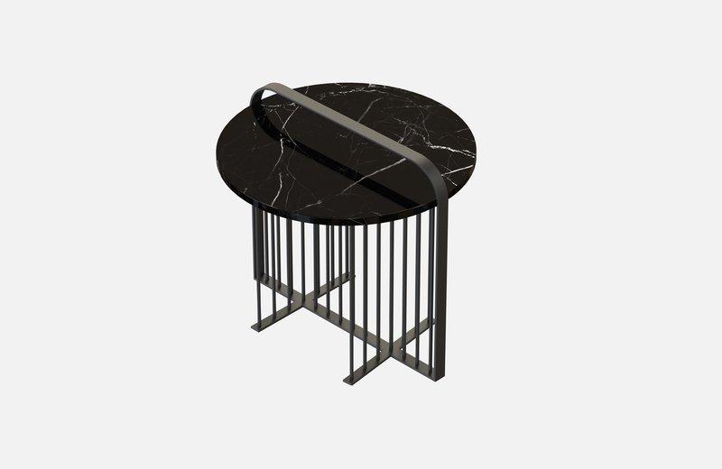 Meister coffee table black with black marble miist treniq 4 1541861544677