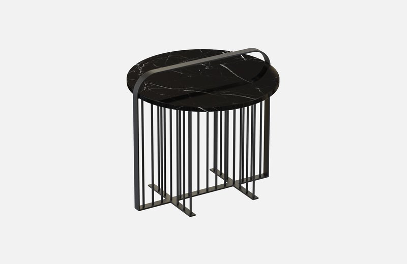 Meister coffee table black with black marble miist treniq 4 1541861544680