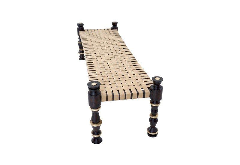Charpai bench gauri khan designs treniq 1