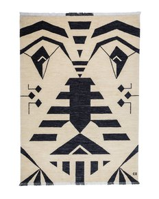 """Tribal-Black""-Bespoke-Carpet-_Carpets-Cc_Treniq_0"