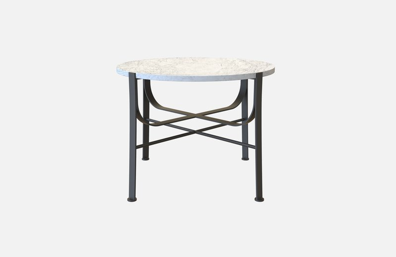 Merge coffee table black with white marble miist treniq 3 1542900212471