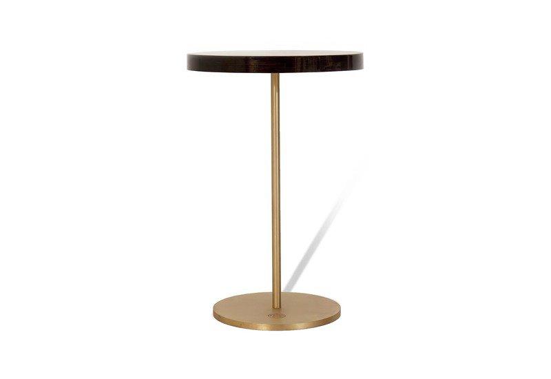Geometric lectern  round side table ii gauri khan designs treniq 1