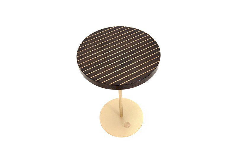 Geometric lectern  round side table ii gauri khan designs treniq 2