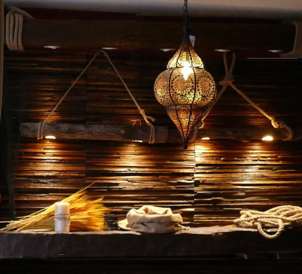 Decorative wood beam led spot light  plug   play  pendant  recessed  rustic wood mosaic ltd treniq 1 1543082117779