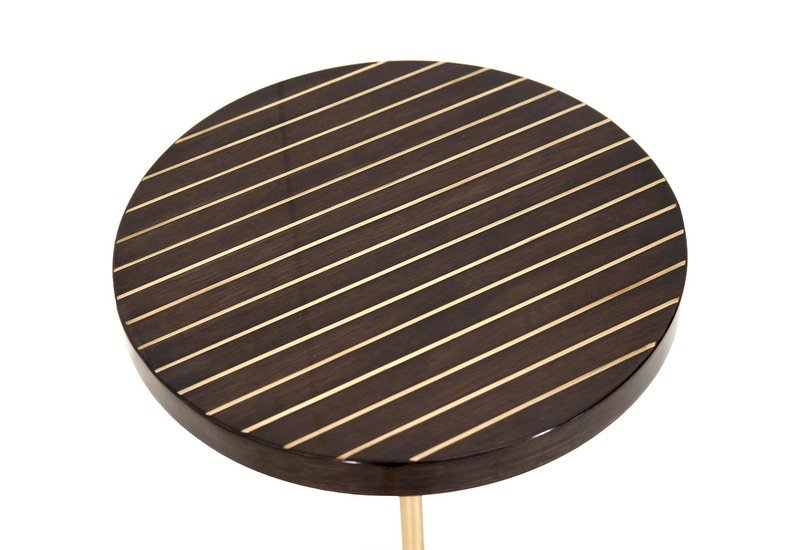 Geometric lectern  round side table ii gauri khan designs treniq 3
