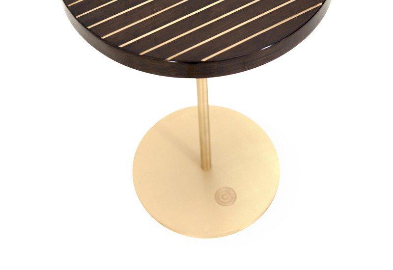 Geometric lectern  round side table ii gauri khan designs treniq 4