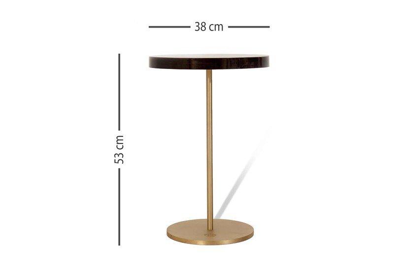 Geometric lectern  round side table ii gauri khan designs treniq 5