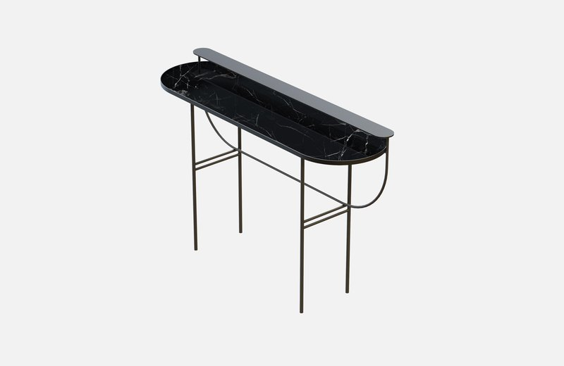 Eva vanity table black with black marble miist treniq 1 1543156901715