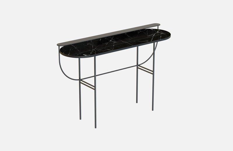 Eva vanity table black with black marble miist treniq 1 1543156901713