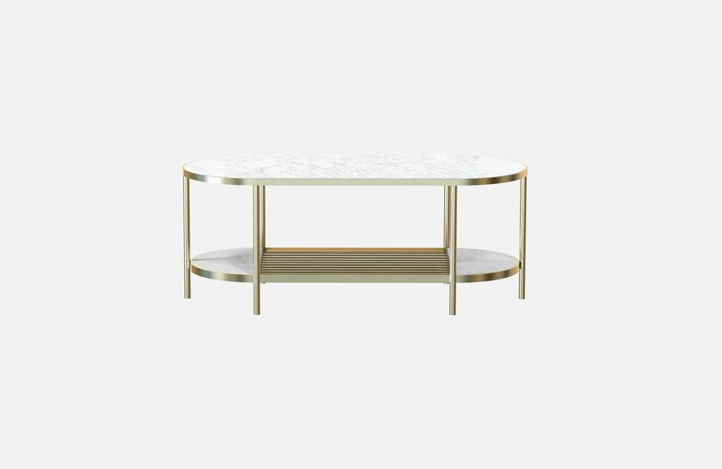 Touch%c3%a9 coffee table brass with white marble miist treniq 1 1543158772494