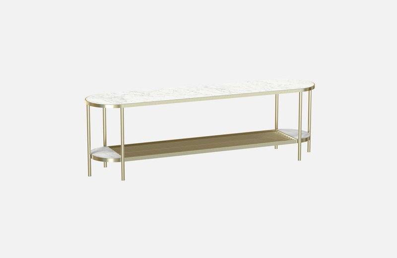 Touch%c3%a9 sideboard brass with white marble miist treniq 4 1543161667293