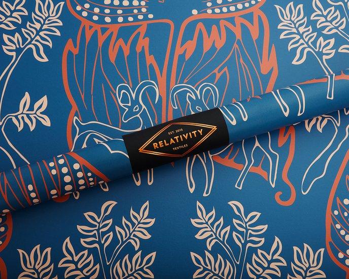 Arabian nights wallpaper   clay relativity textiles treniq 1 1543348916872