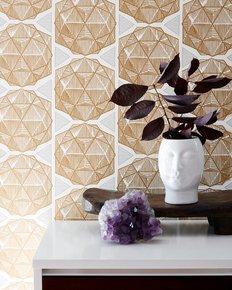 Escher-Wallpaper-Gold_Relativity-Textiles_Treniq_0