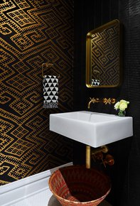 Kilim-Wallpaper-Black_Relativity-Textiles_Treniq_0