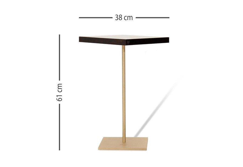 Geometric lectern square side table ii gauri khan designs treniq 5