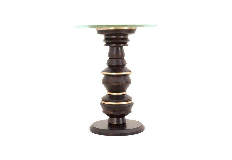 Scuplt side table gauri khan designs treniq 1