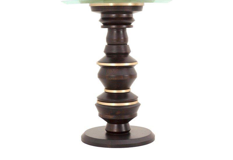 Scuplt side table gauri khan designs treniq 3