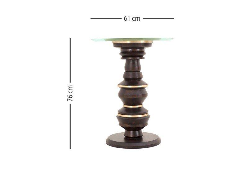 Scuplt side table gauri khan designs treniq 5