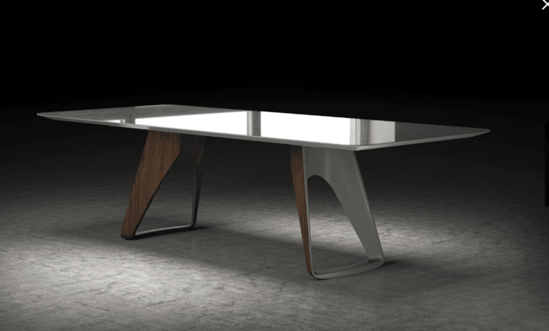 West dining table by ronald sciar sasson kelly christian design ltd treniq 1 1544211974717
