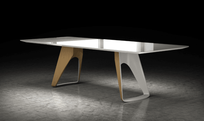 West dining table by ronald sciar sasson kelly christian design ltd treniq 1 1544211974715