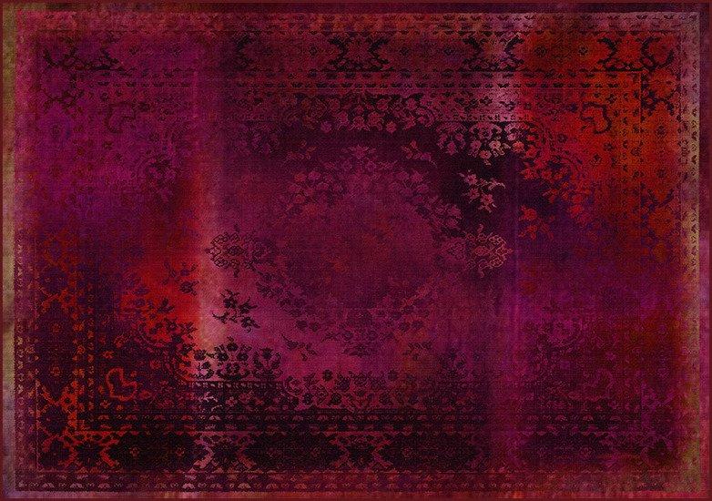 Kashan remix red rug mineheart treniq 1 1544515479070