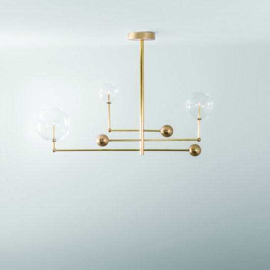 Brass universe chandelier schwung home treniq 6 1544789260839