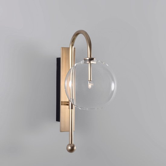 Brass naples wall sconce schwung home treniq 5 1544789887350
