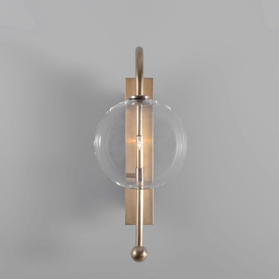 Brass naples wall sconce schwung home treniq 5 1544789915197