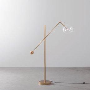 Brass-Milan-1-Arm-Floor-Lamp_Schwung-Home_Treniq_0