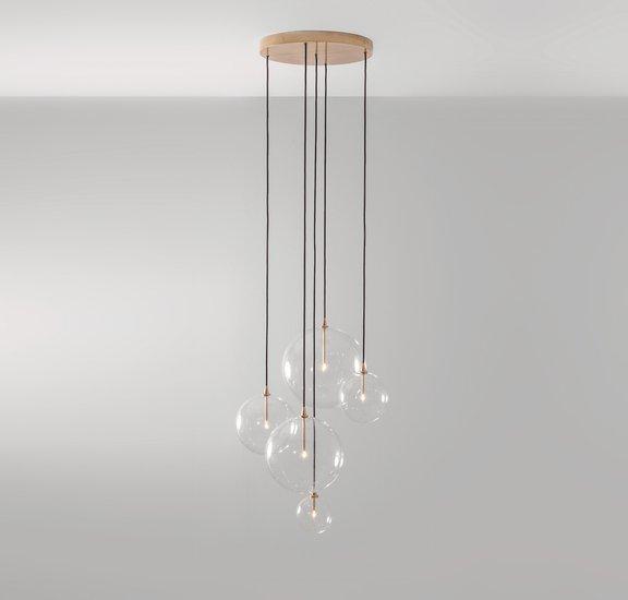 Brass cluster chandelier schwung home treniq 1 1545132598059