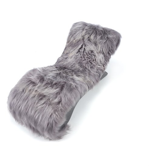 The blizzard eclectic ergonomic chaise in icelandic long haired sheepskin rhubarbchairs treniq 1 1545142066643