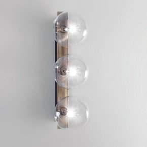 Brass Oslo Triple Wall Sconce