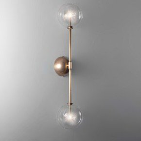 Brass Miron Wall Sconce