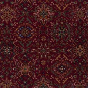Royal Dartmouth Oriental Silk Carmine