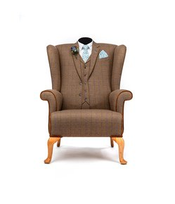 The-Wedding-Gent-Tweed-Wing-Chair._Rhubarb-Chairs_Treniq_0