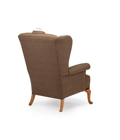 The country gent tweed wing chair. rhubarbchairs treniq 1 1545418351487
