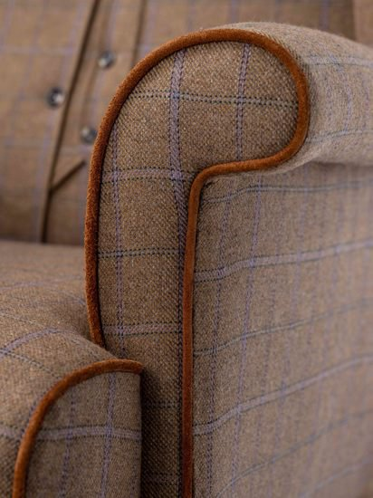 The country gent tweed wing chair. rhubarbchairs treniq 1 1545418429201