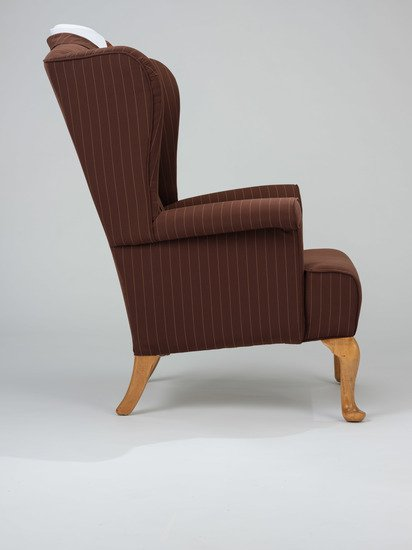 The suit wing chair. rhubarbchairs treniq 1 1545420496508
