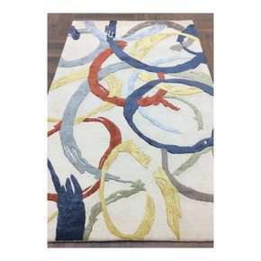 RIMO-HR-68: Hand Knotted Rug