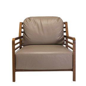Flax  Armchair brown