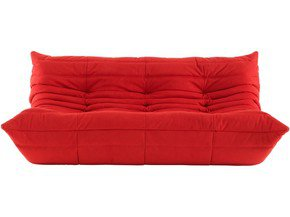 Togo 3+ Seater Sofa red