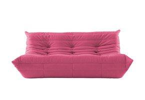 Togo 3 Seater Sofa Pink
